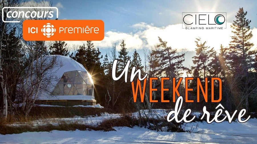 Concours - Acadie - Un weekend de rêve - mobile