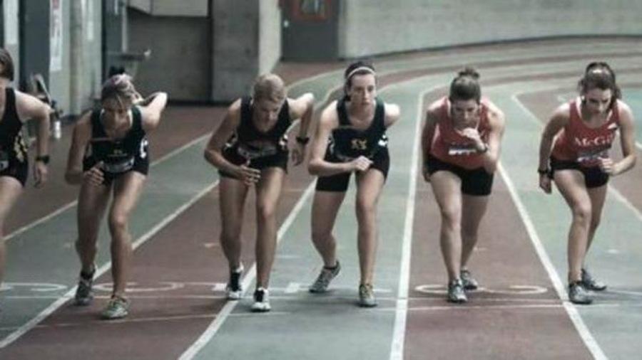 Des coureuses sur la ligne de départ