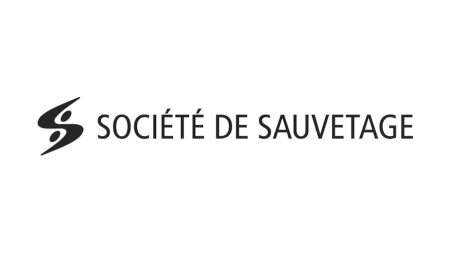 Logo de la Société de sauvetage du Québec.