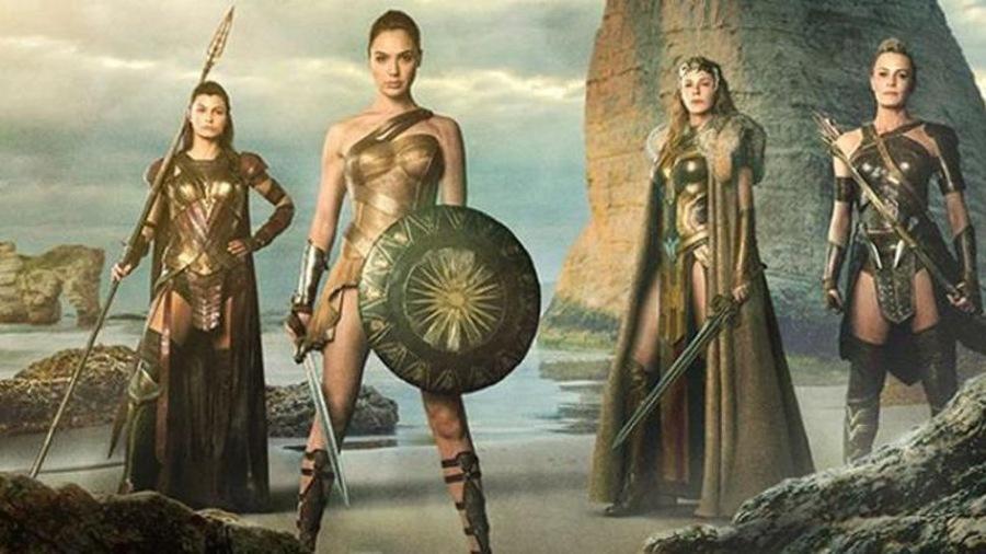 Wonder Woman et les amazones