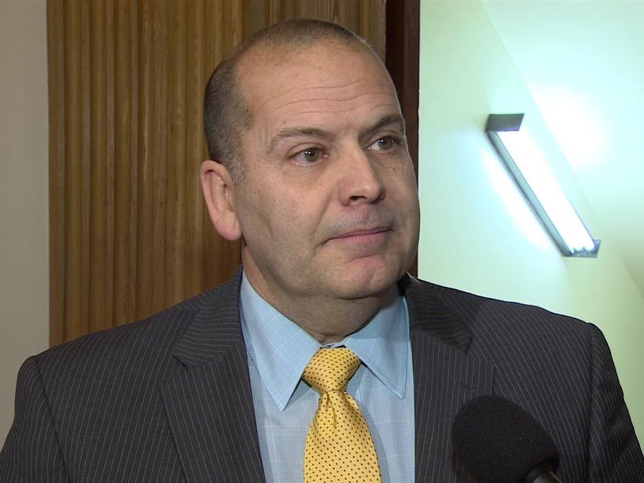 Chris Collins, président de l'Assemblée législative du N.-B.