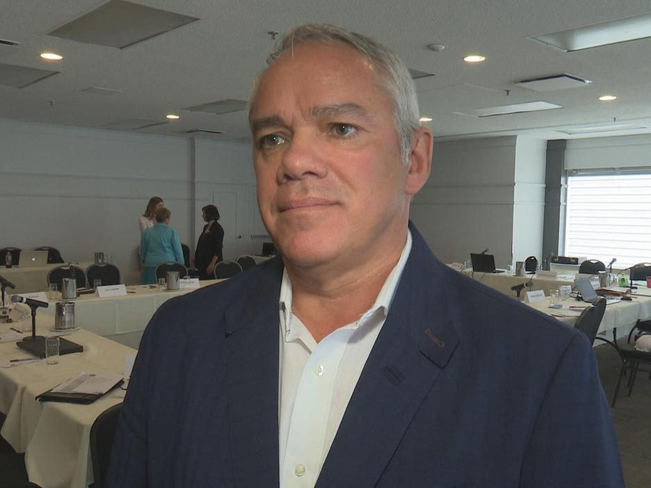 Le président-directeur général adjoint du CISSS du Bas-Saint-Laurent, Daniel Côté