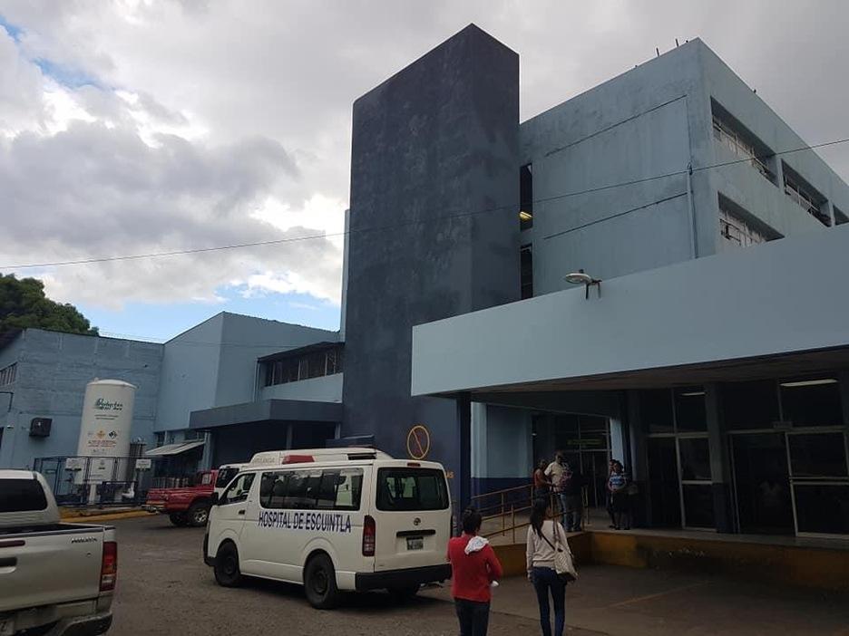 L'hôpital de la ville d'Escuintla au Guatemala