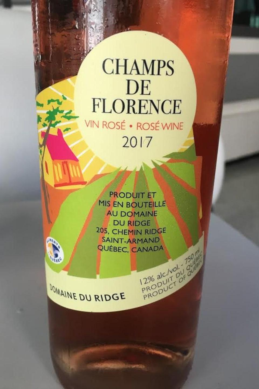 Domaine du Ridge, Champs de Florence 2017, Code SAQ : 00741702, 14,55 $